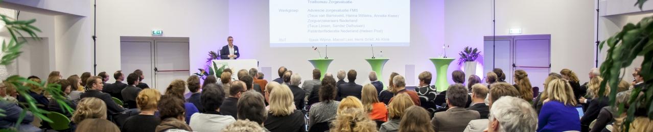 Banner symposium Zorgevaluatie