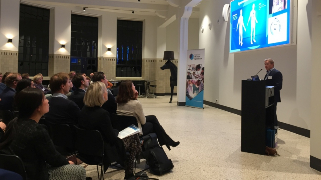 De zaal tijdens het Platform Innovatie op 18 november