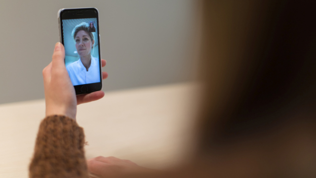 Telefonisch contact tussen arts en patiënt