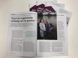 Coverstory van het magazine De Medisch Specialist editie 04 jaargang 05