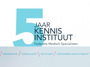 Vijfjarig jubileum Kennisinstituut