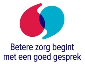 Logo Beter zorg begint met een goed gesprek