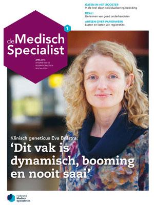 cover De Medisch Specialist Jaargang 02 Editie 01