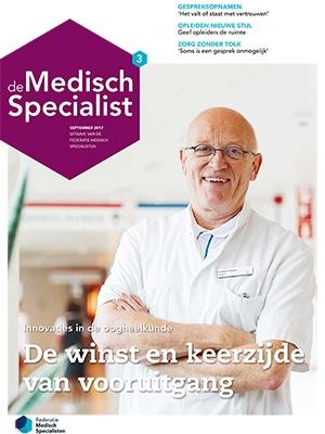cover De Medisch Specialist Jaargang 03 Editie 03